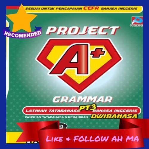 Best Selling Project A+: Grammar PT3 & SPM Improve English Grammar (Ready Stock)