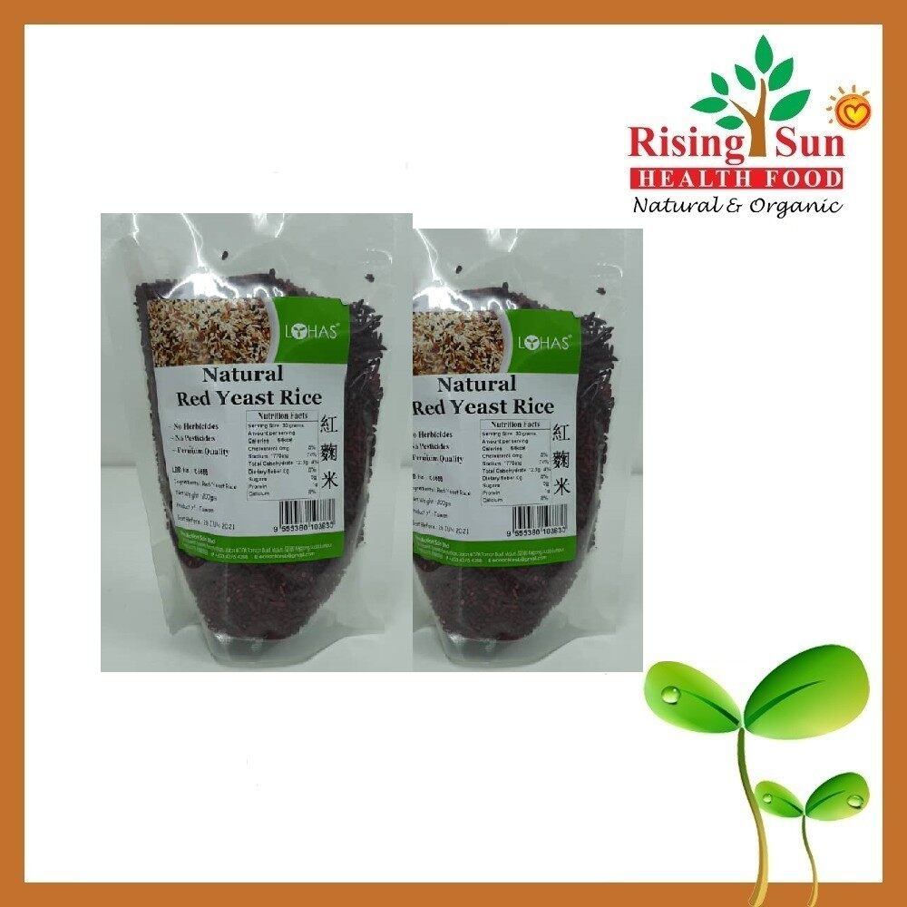 Lohas Natural Red Yeast Rice 200G - Twin Pack