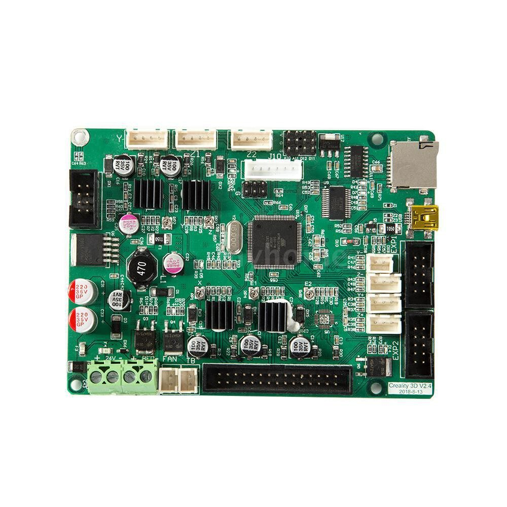 Printers & Projectors - Creality 3D Controller Board Mainboard Motherboard 24V Power Input with USB Port Compatible for - GREEN