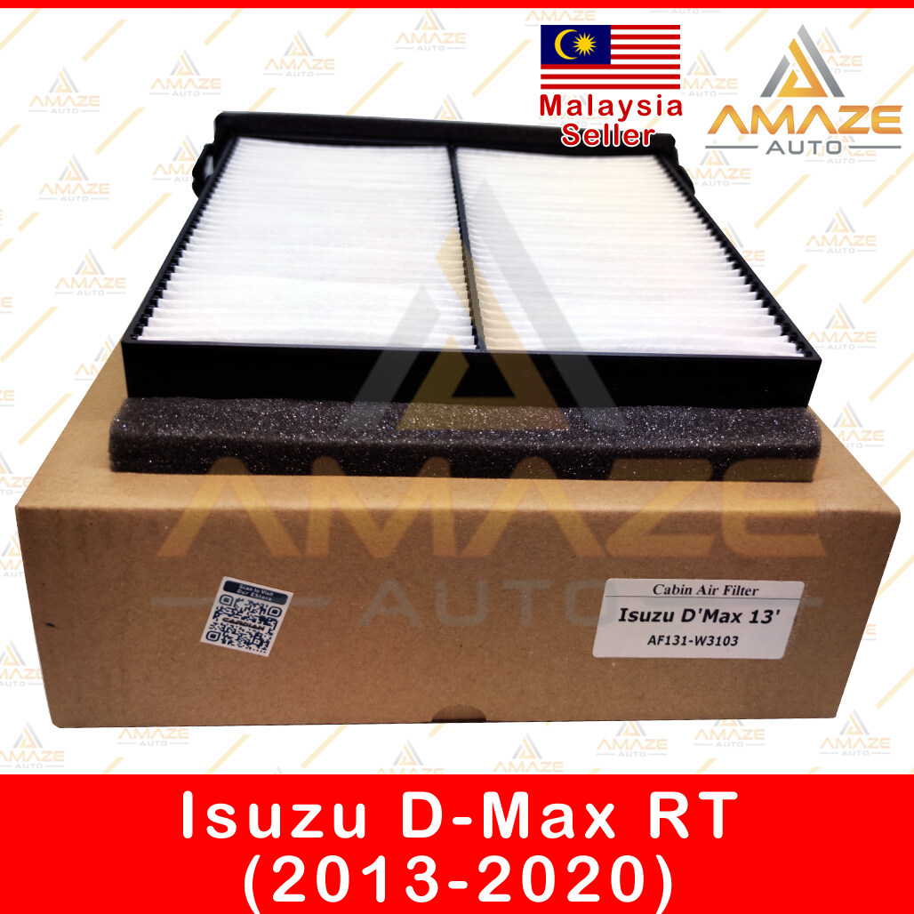 Air-Cond Cabin Filter with holder for Isuzu D-Max RT (2013-2020) - Amaze Autoparts