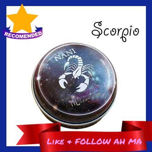 Best Selling 12 Signs Constellation Perfumes Unisex Zodiac Magic Solid Deodorant Solid Fragrance Portable Tin Box Balm For Women Men (Scorpio) (8)