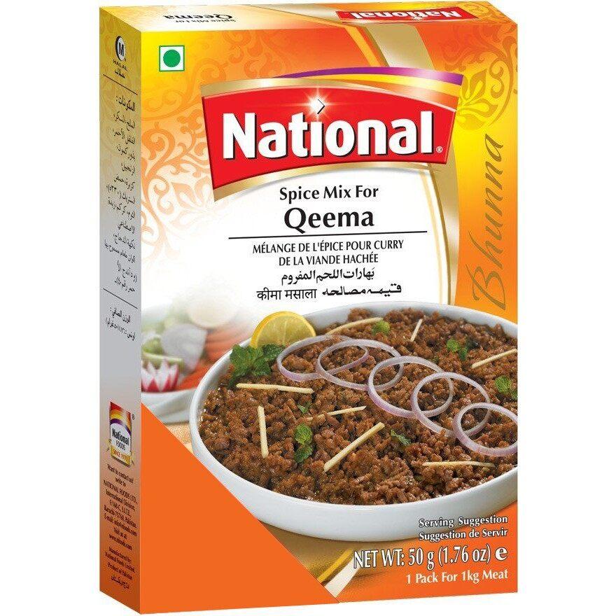 NATIONAL QEEMA MASALA 50 GM