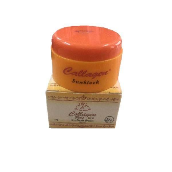 Collagen Plus Vit E Sunblock Cream SPF20 15g