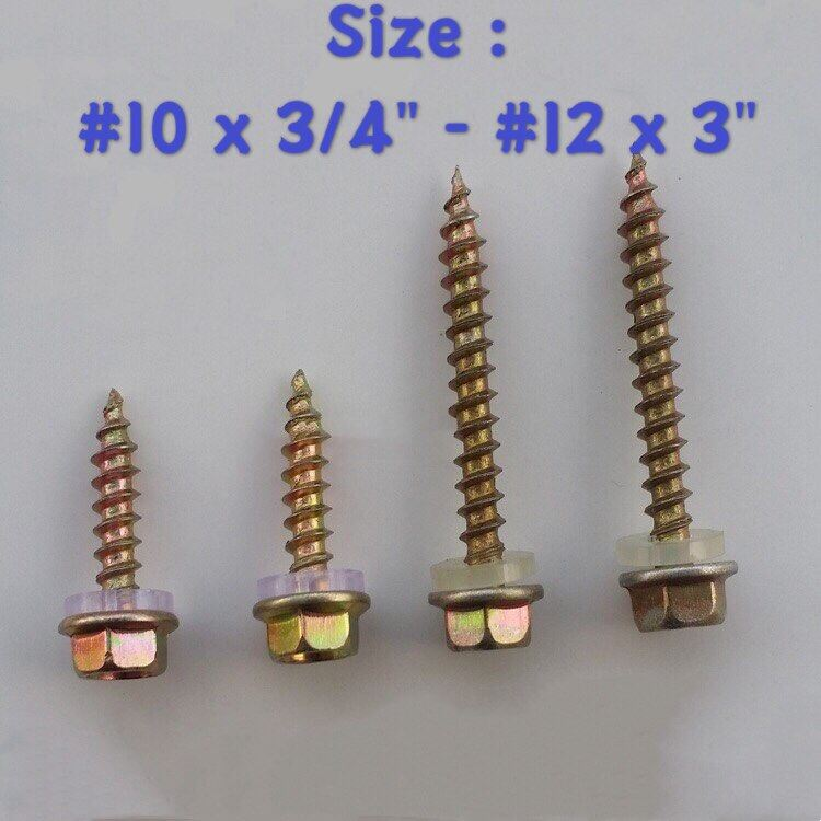 Hex Washer Head Self Drilling Tapping Screw (TD)