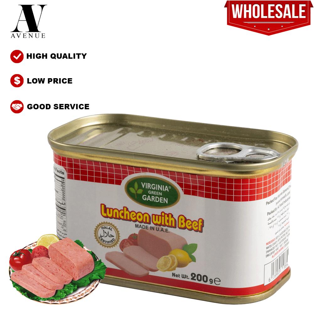 Virginia Garden BEEF LUNCHEON MEAT HALAL 200 g لانشون لحم