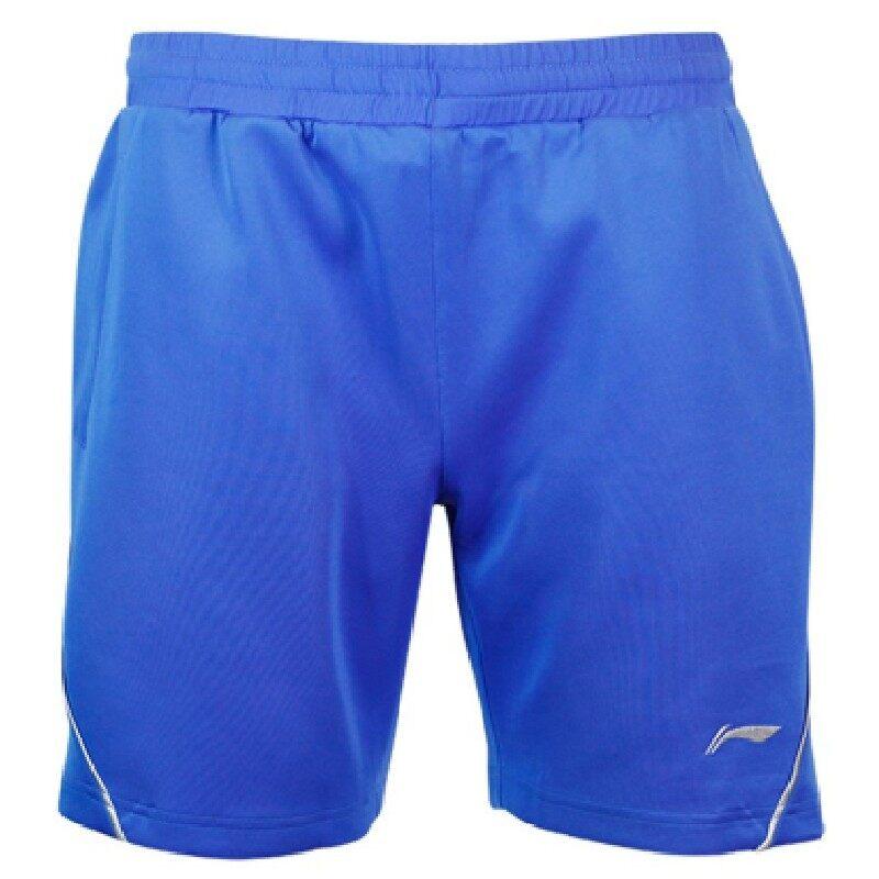 Li-Ning Quick Dry Badminton Sport Shorts - Blue AAPK287-10