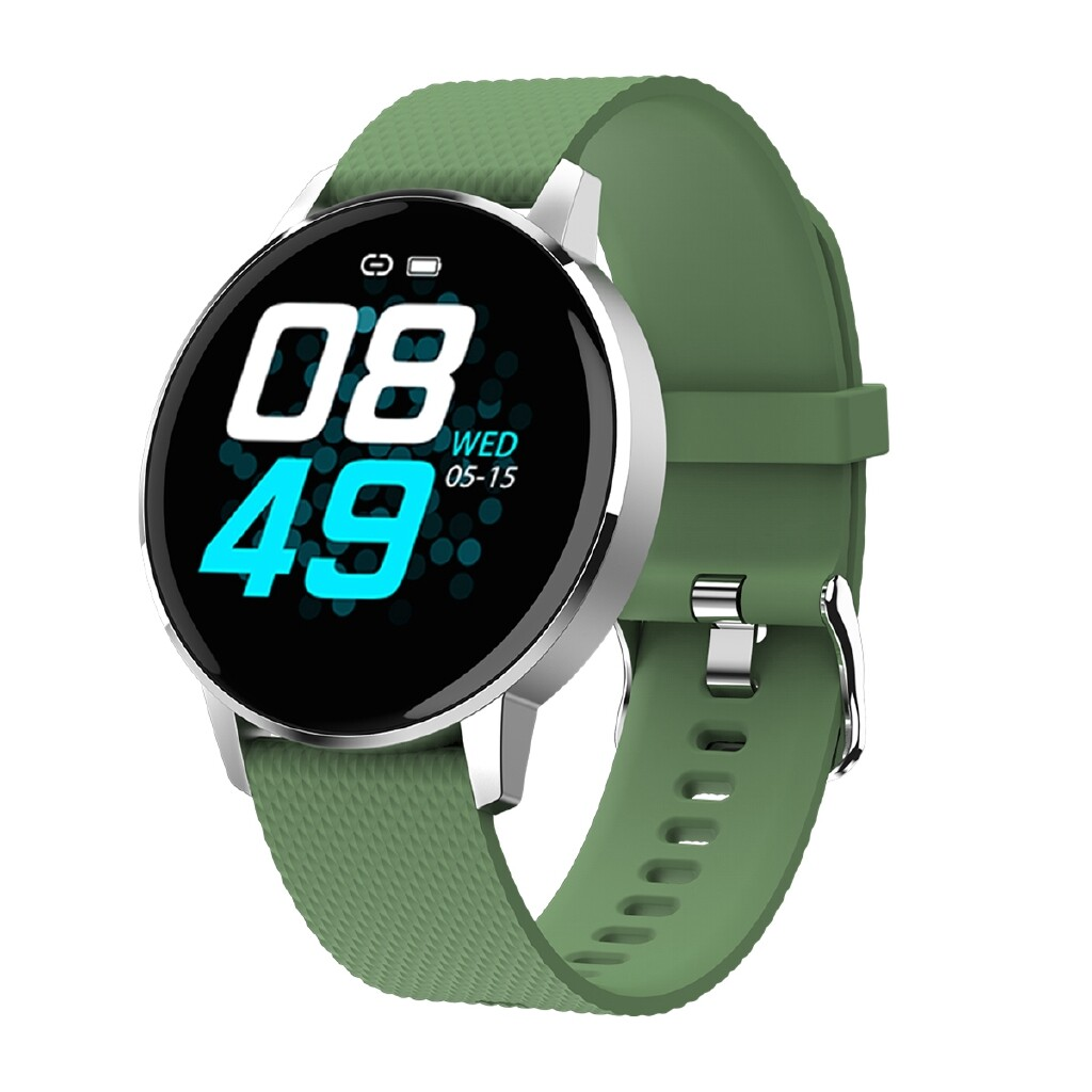 Smart Watch - T4 1.22' ULTRA-thin Touch Screen IP68 Blood Pressure Sleep Monitor BLUETOOTH Music Smart - PINK / DARK GREEN / RED / LIGHT GREEN