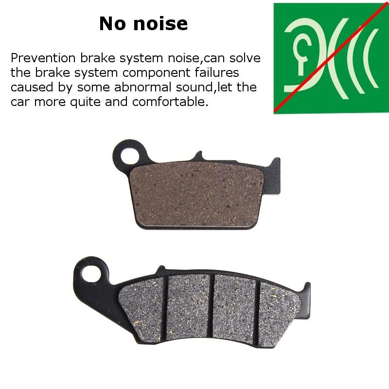 Moto Accessories - Front+Rear Brake Pads For KAWASAKI BETA GAS-GAS APRILIA KX 250 KLX 450 KX 450 - Motorcycles, Parts
