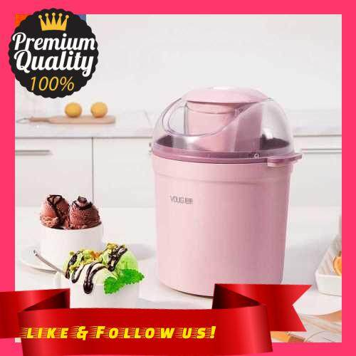 People\'s Choice Xiaomi Youpin YOULG Ice Cream Maker 0.8L/12W Home Automatic 800ML Ice Cream Machine Electric Frozen Yogurt Machine With Built-in Cooling System 220V (Standard)
