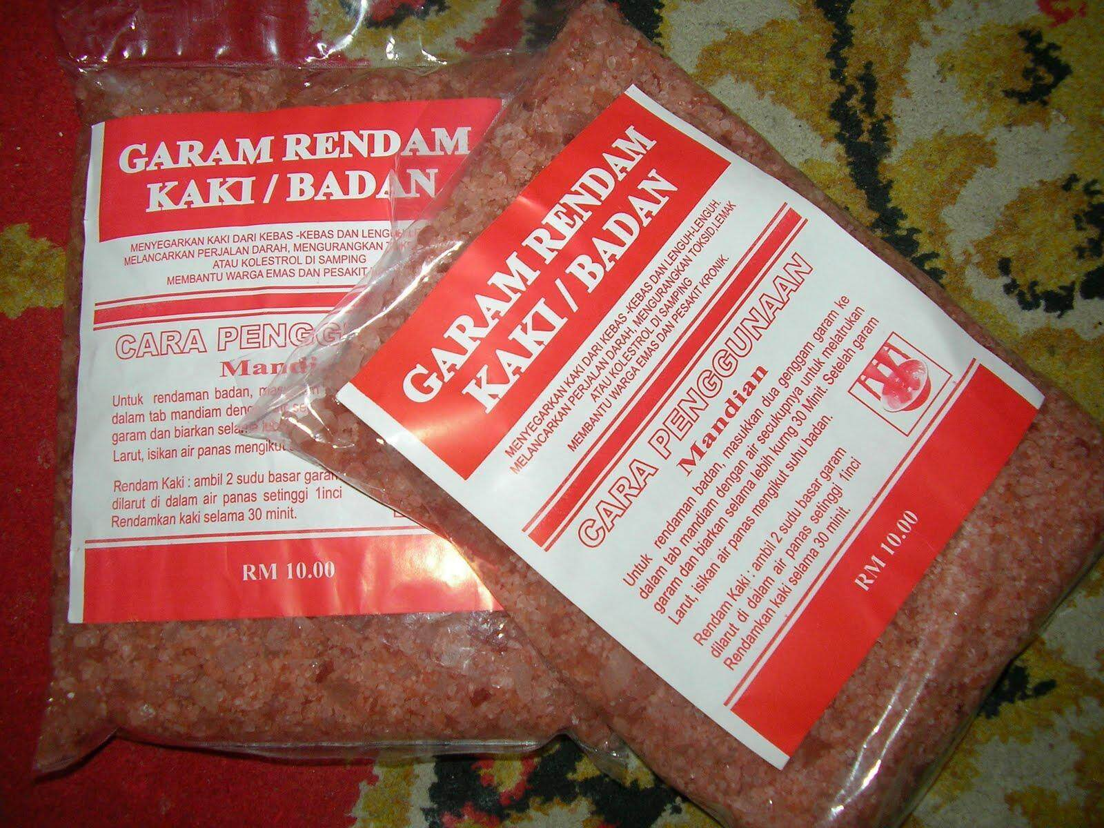 12.12 Special Price Promotion Garam Bukit Himalaya 2000GM Rendam Kaki & Badan Body And Foot Soak Salt