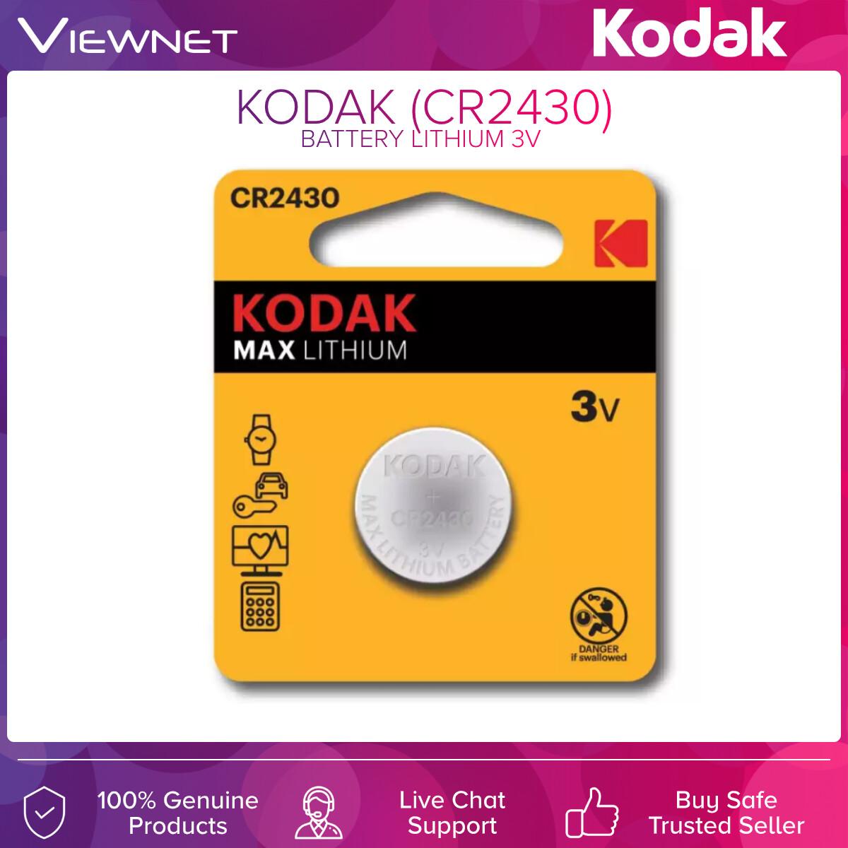 KODAK BATTERY LITHIUM 3V CR2430