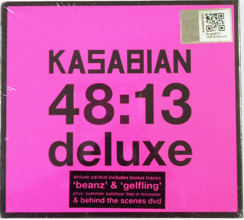 Kasabian 48:13 Deluxe Version CD+DVD