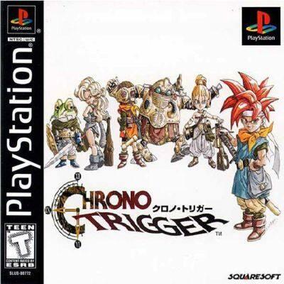 PS1 Final Fantasy Chronicles - Chrono Trigger