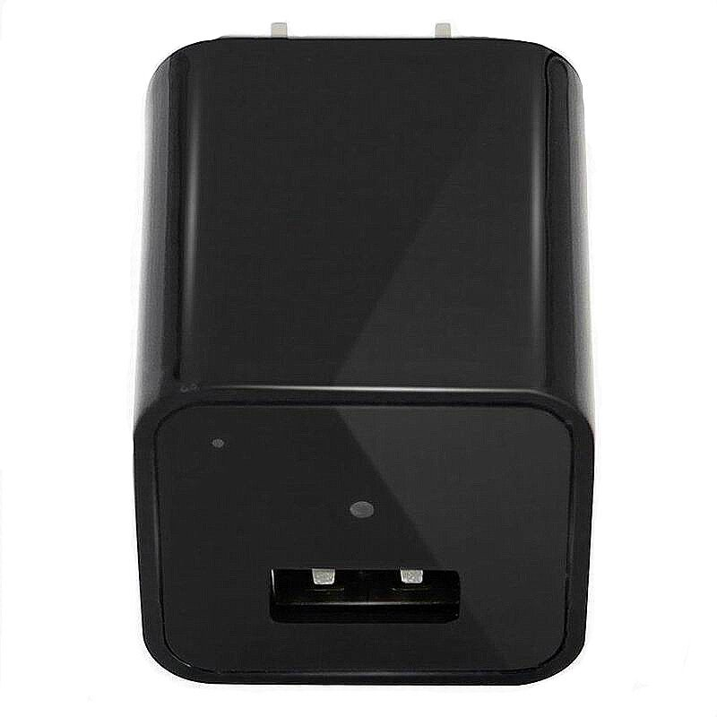 Chargers - 1080P DC 5V 1A USB MINI SPY Hidden Wall Charger Camera - AU