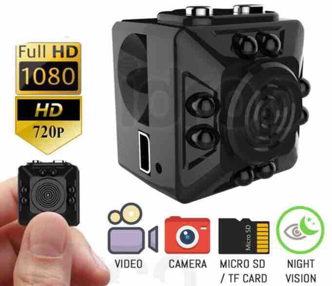 SpyCam Mini Camera 1080P HD Camcorder Nachtsicht Mini DV Spycam Security With 32GB Micro SD Card