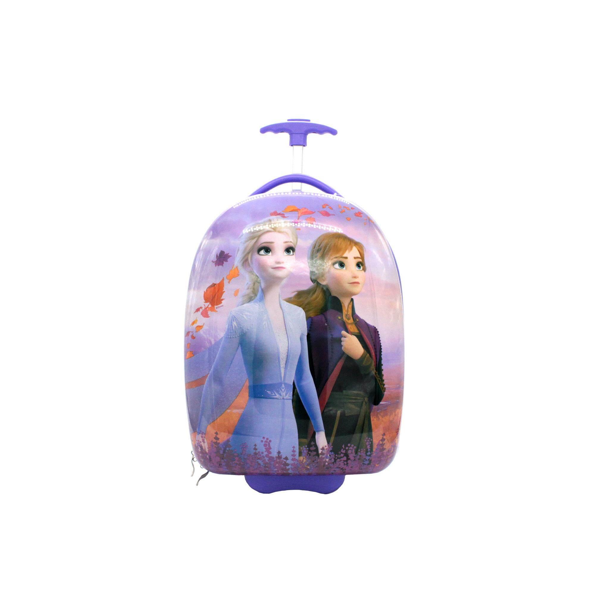 Disney Princess Frozen 2 : 18 Inches Round Shape Luggage - Elsa & Anna