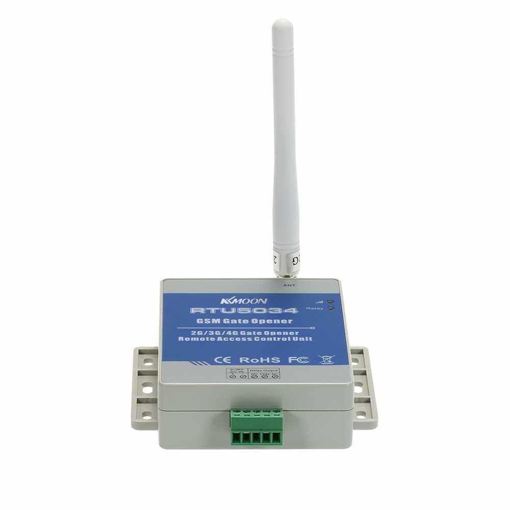 KKmoon GSM Door Gate Opener Remote Relay Switch Free Call SMS Command Support 850/900/1800/1900MHz (Blue)