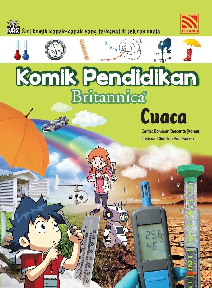 Pelangibooks Pelangibooks Komik Pendidikan Britannica Bumi dan Hidupan - Cuaca