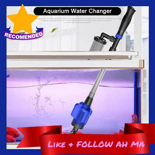 Best Selling Aquarium Gravel Cleaner Efficient Electric Automatic Vacuum Water Changer Flexible Fish Tank Sand Algae Cleaner Water Filter Pump Syphon Cleaning Tool (Standard)