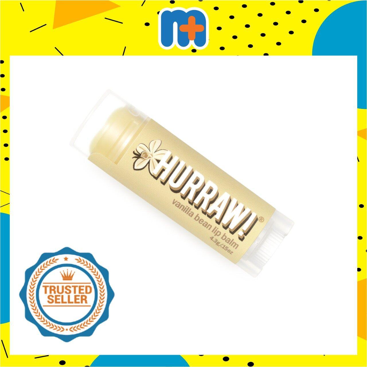 [MPLUS] HURRAW VANILLA LIP BALM 4.8G