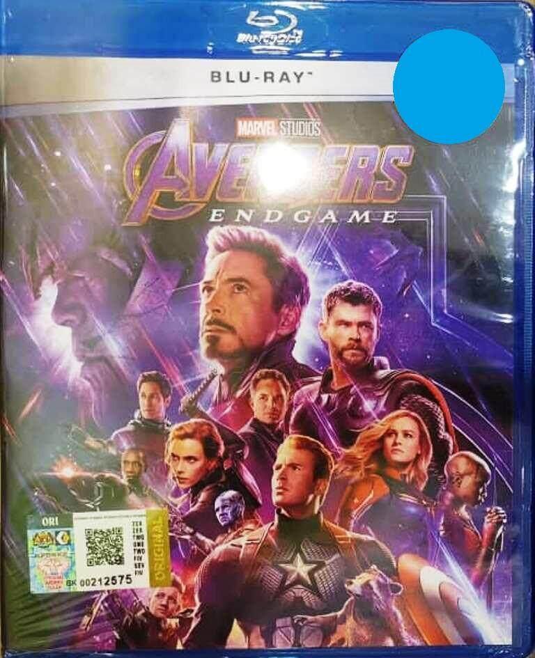 English Movie Avengers: Endgame Blu-ray