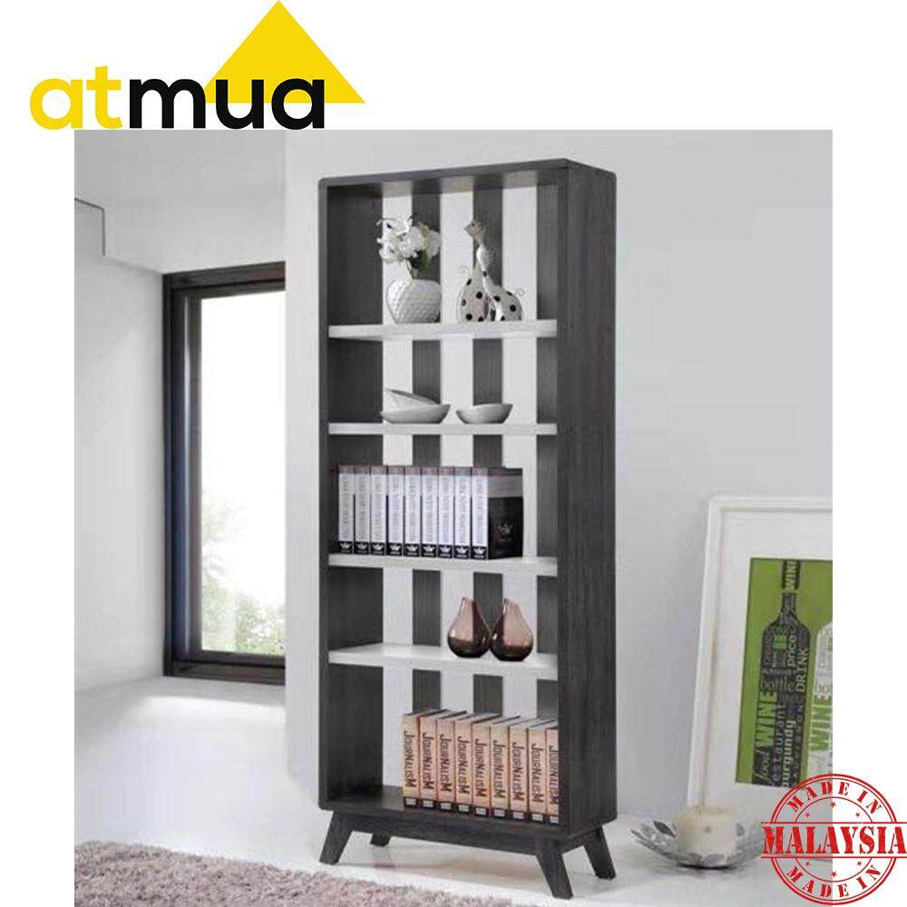 Atmua Rover Divider Storage Divider Bookcase Book Shelf Strong and Sturdy Modern Design ( Special Design ) [MDF Hollow Board]