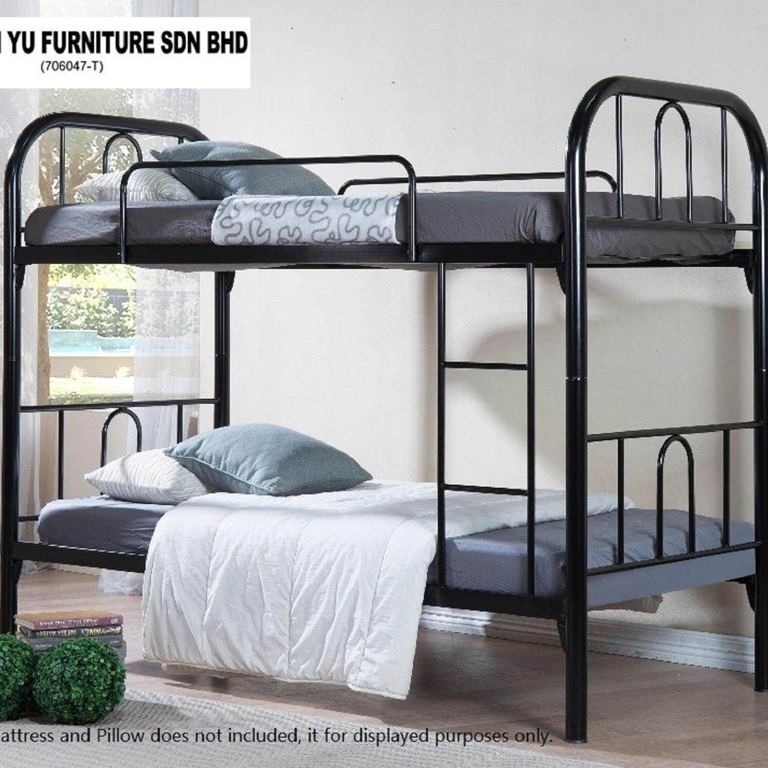 KHOON YU FURNITURE: STRONG DURABLE SAFARI DOUBLE DECKER/BUNK BED BEDROOM FURNITURE. Bed Frame