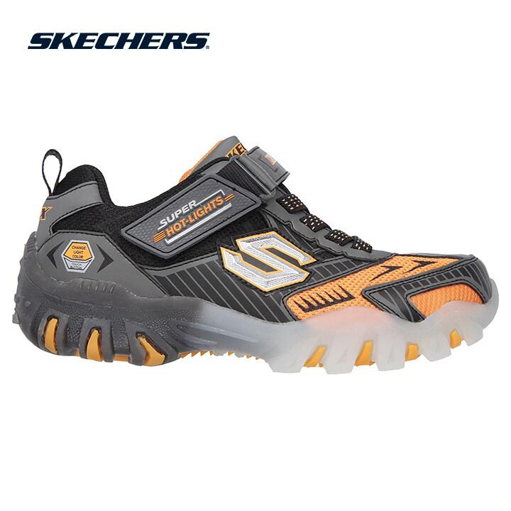 Skechers Street Lightz Boys Lifestyle Shoe - 90481L-GUOR