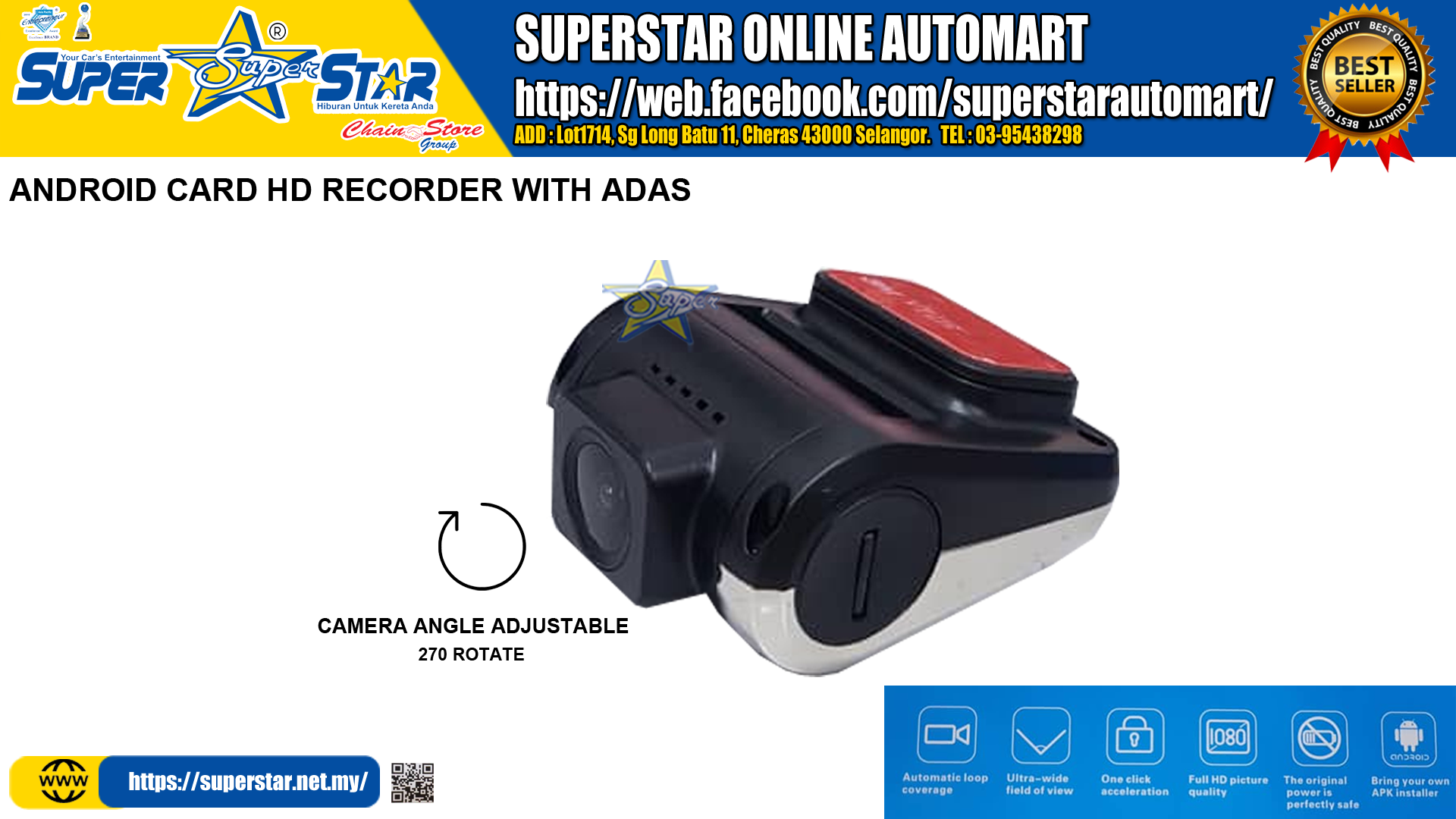 Usb Car Dvr Camera Driving Recorder Hd Video Recorder For Android 4.2 / 4.4 / 5.1.1/6.0.1/7.1 Dvd Gps Player Dvr Camera