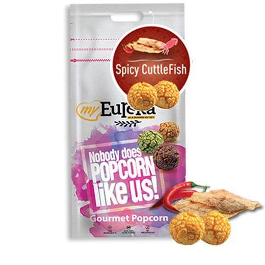Eureka Spicy Cuttlefish Popcorn (Aluminium Pack)
