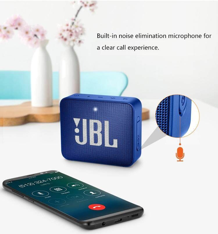 JBL GO 2 Portable Bluetooth Speaker IPX7 Waterproof Wireless Subwoofer Random Color Stock Clearance
