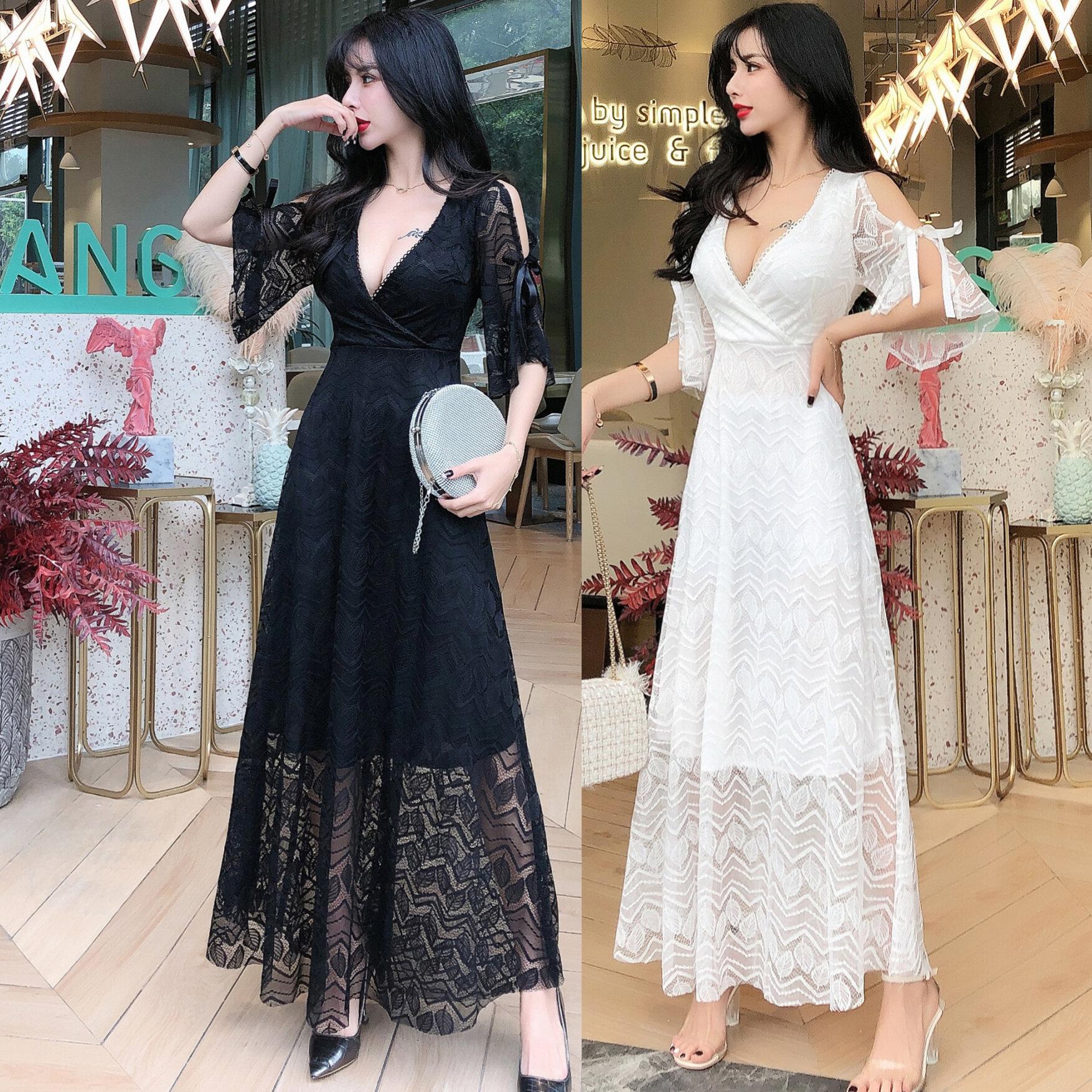 (Pre Order ETA 15/5) JYS Fashion Korean Style Women Dinner Dress Collection 540 - 60063
