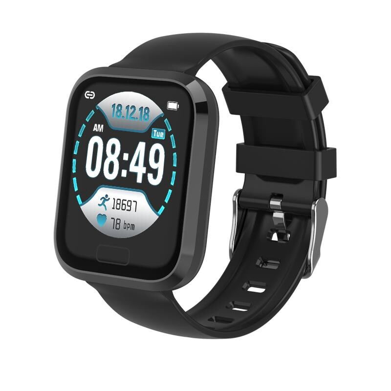 Smart Watch - P30 Heart Rate Oxygen Monitor Smart Push Detachable Strap Smart Watch - BLACK / GREY / WHITE GOLD