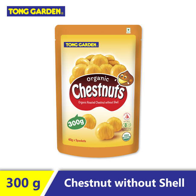 Tong Garden Organic Chestnuts without shell 300G