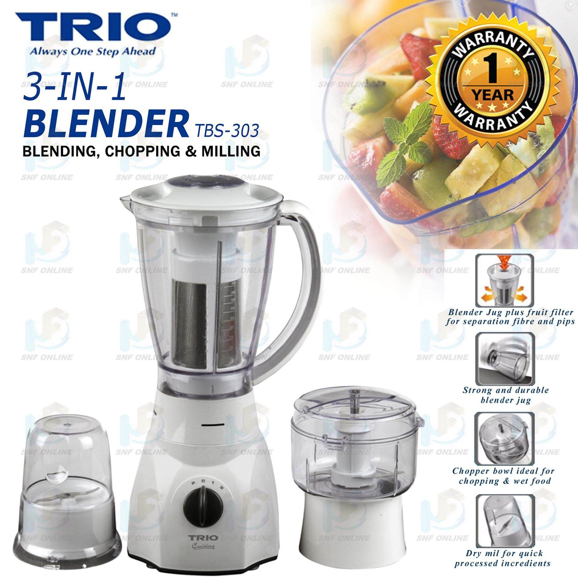 Trio Blender 3-in-1 Blender Buah TBS-303