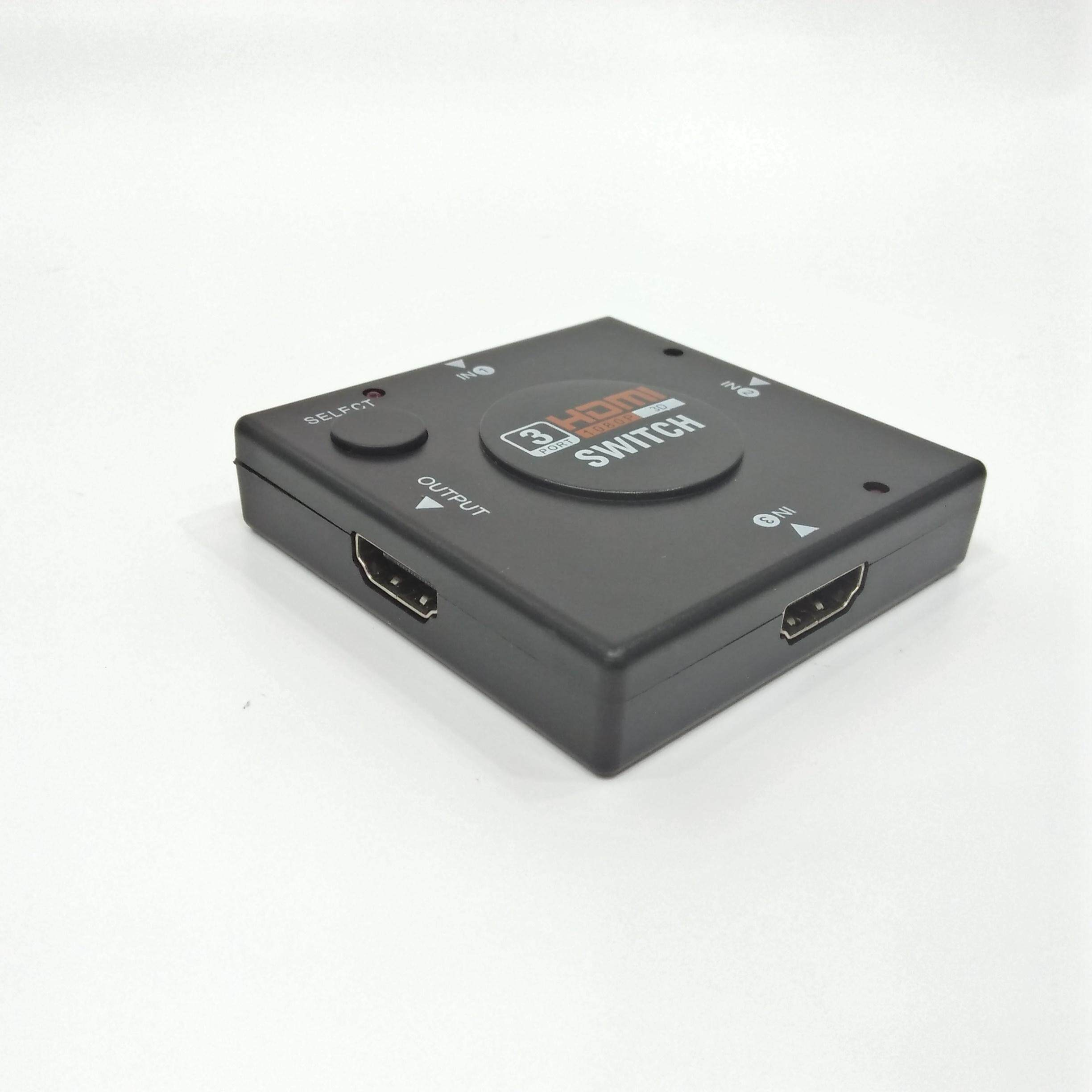 HDMI Switch Switcher 3 Port 1080P 3 in 1 Out