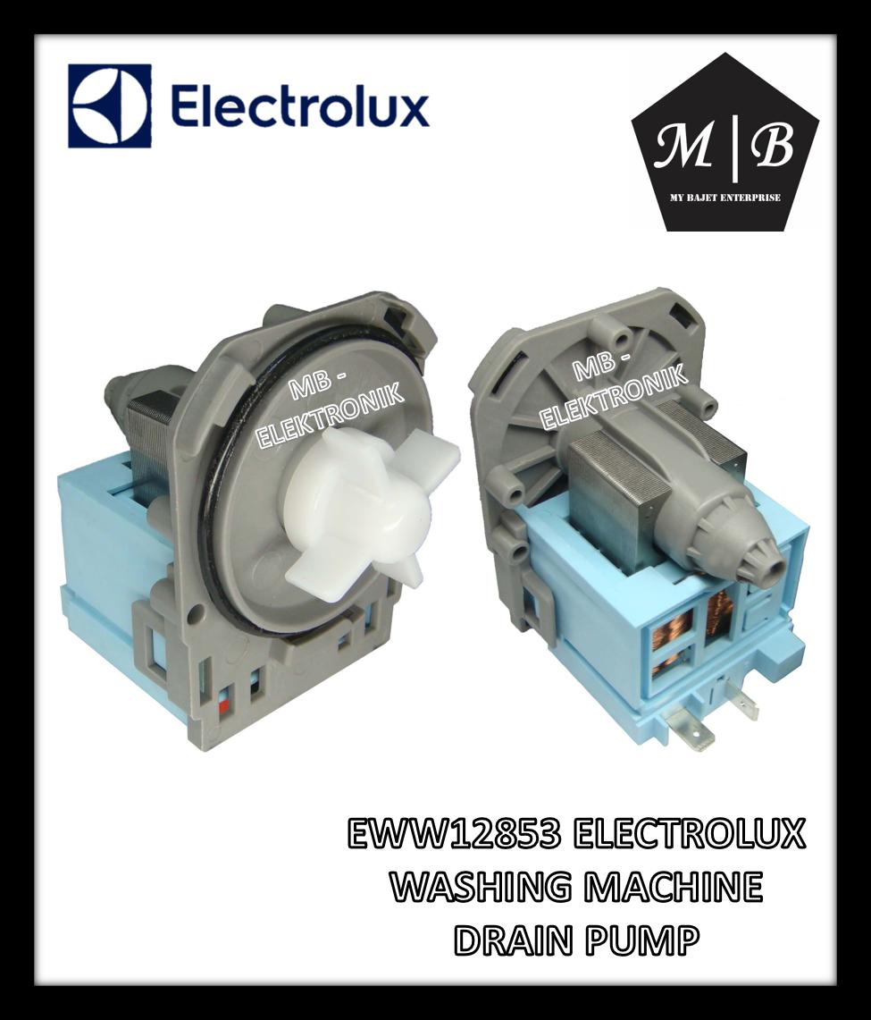 ELECTROLUX/ZANUSSI WASHING MACHINE DRAIN PUMP EWW12853 EWW12753 EWW1274 EWF12033 X M112 X M109 M109