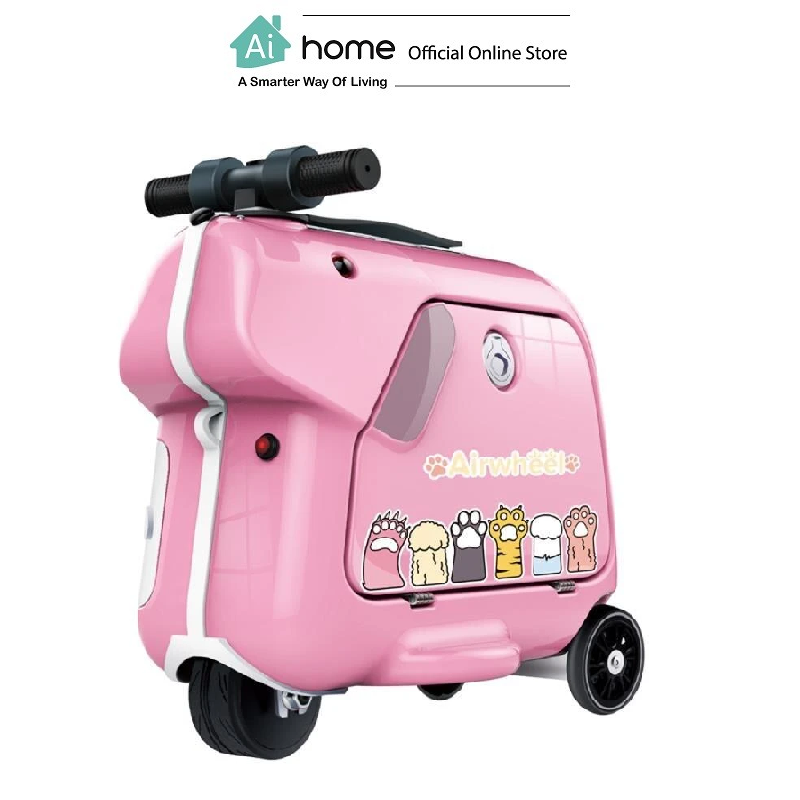 """AIRWHEEL SQ3 Kids Electric Luggage 20"""" [ Smart Travel ] with 1 Year Malaysia Warranty [ Ai Home ] ASQ3P"""
