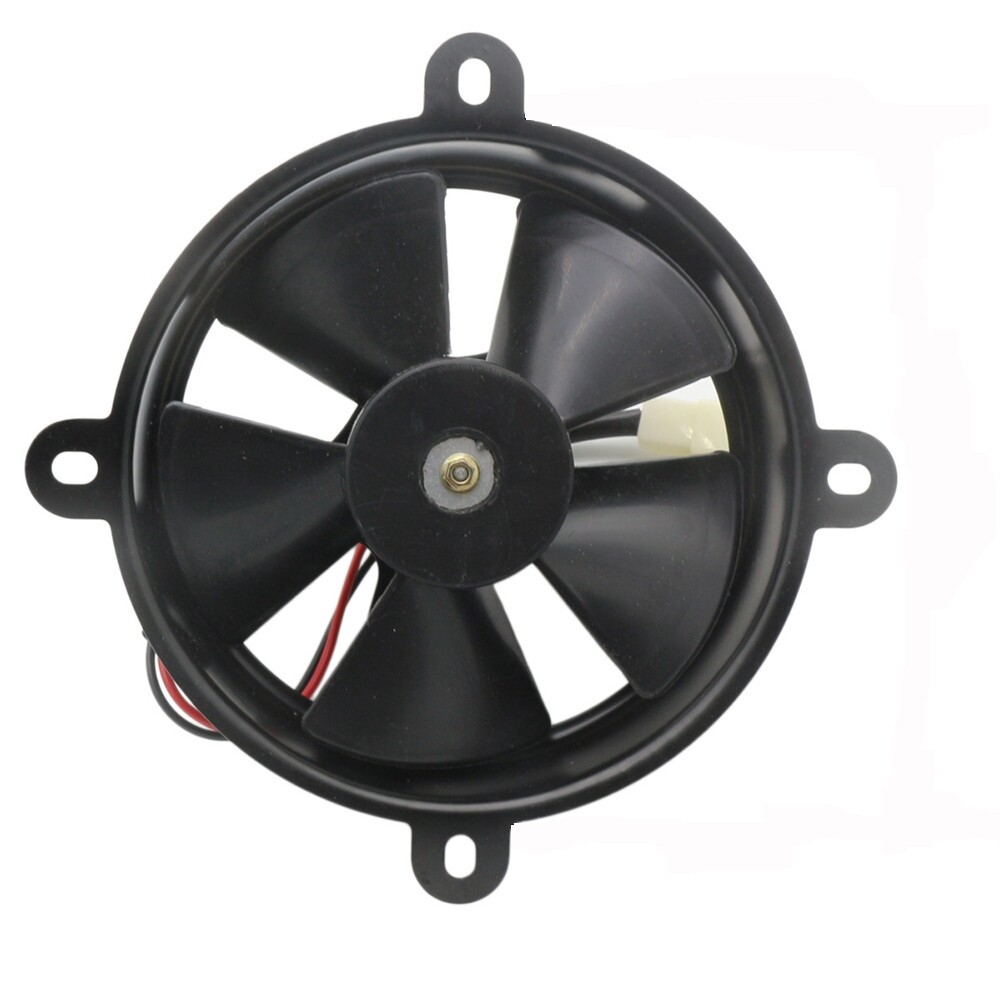 Car Lights - Motorcycle Electric Cooling Fan Fit For 150cc 250cc Quad Dirt Bike ATV Buggy - Replacement Parts
