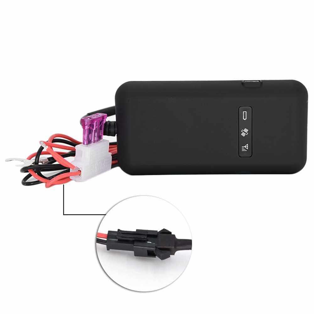 4 Band Mini Realtime GPS Antenna Car Vehicle Tracker Locator GPRS GSM Tracking System Device Vehicle/Truck/Van Auto GPS Locator (Standard)
