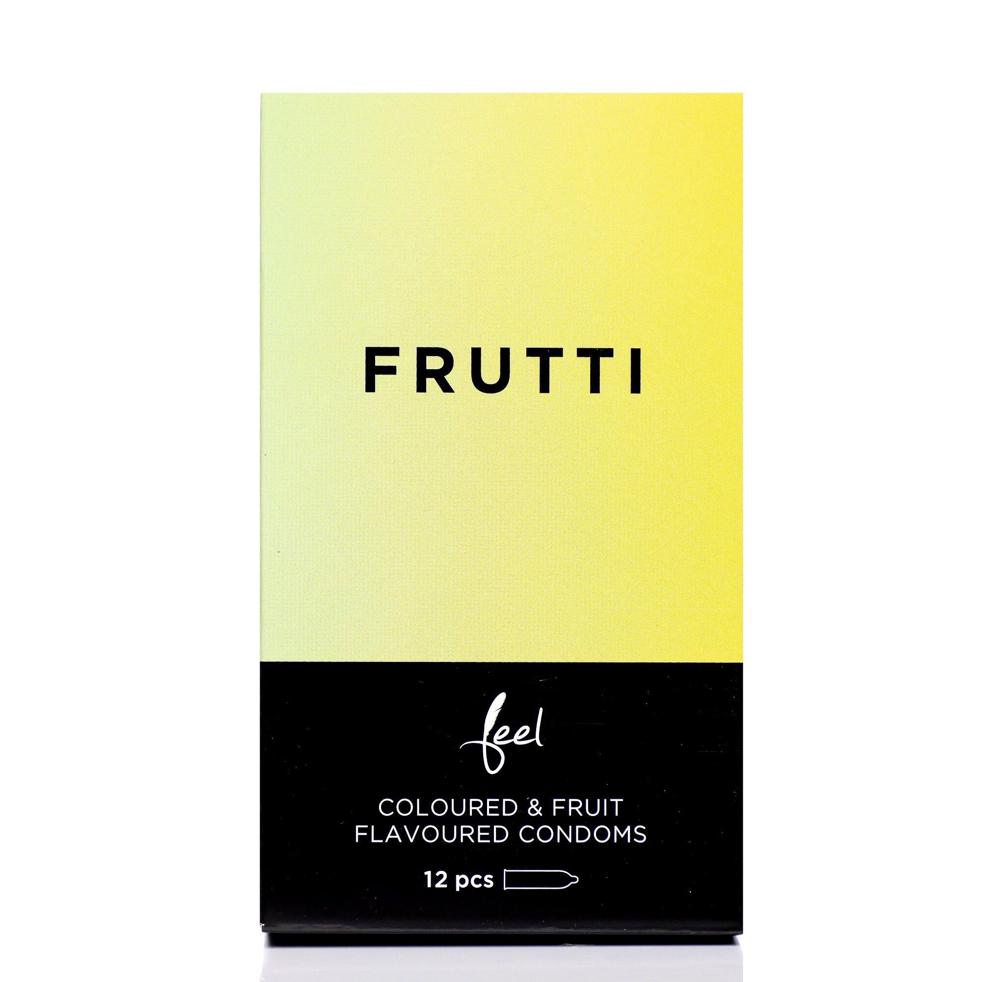 Nulatex Feel Frutti Coloured & Fruit Flavoured Condoms 12pcs