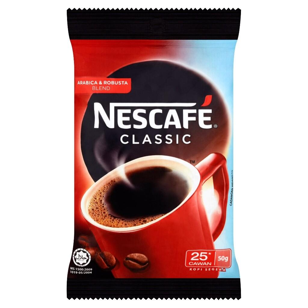 NESCAFE CLASSIC REFILL 50G