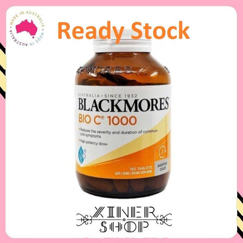 [Ready Stock EXP Date: 10/2022] Blackmores Bio Vitamin C 1000mg (150 Tablets )(Made In Australia)