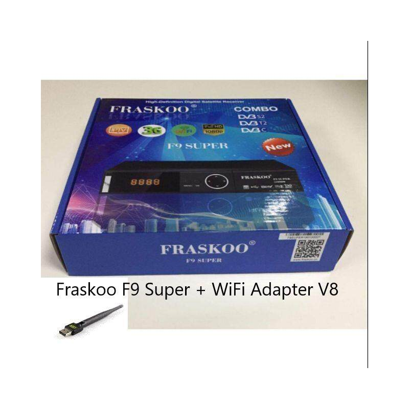 Fraskoo F9 Super Combo S2 T2 Digital TV