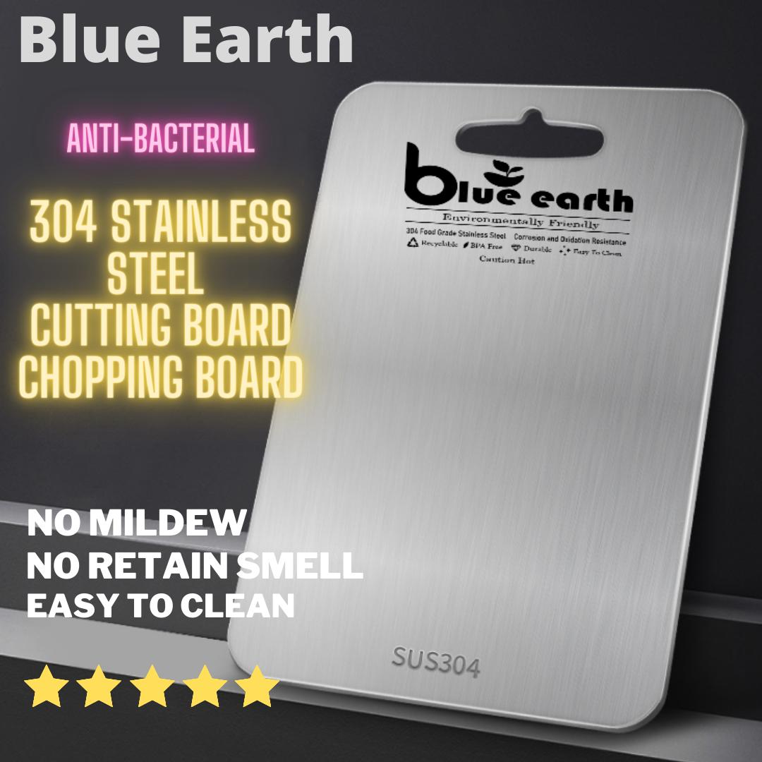 304 Food Grade Stainless Steel Cutting Board / Chopping Board 39cm x 28cm Ready Stock