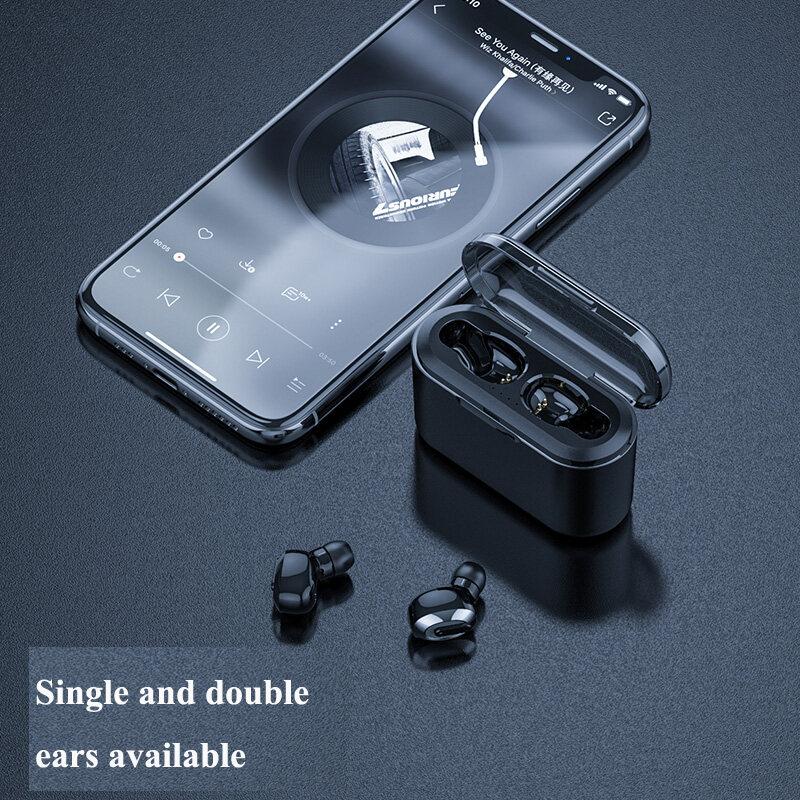 Bluetooth Earphone Sports Wireless Mini HiFi Handsfree Headphone Stereo Sound Earbuds Gaming Headset with Charging Box