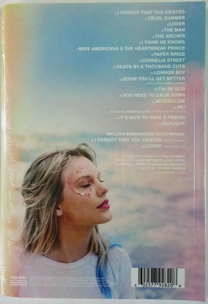 Taylor Swift 2019 Studio Album Lover Imported CD Deluxe Album Version 2