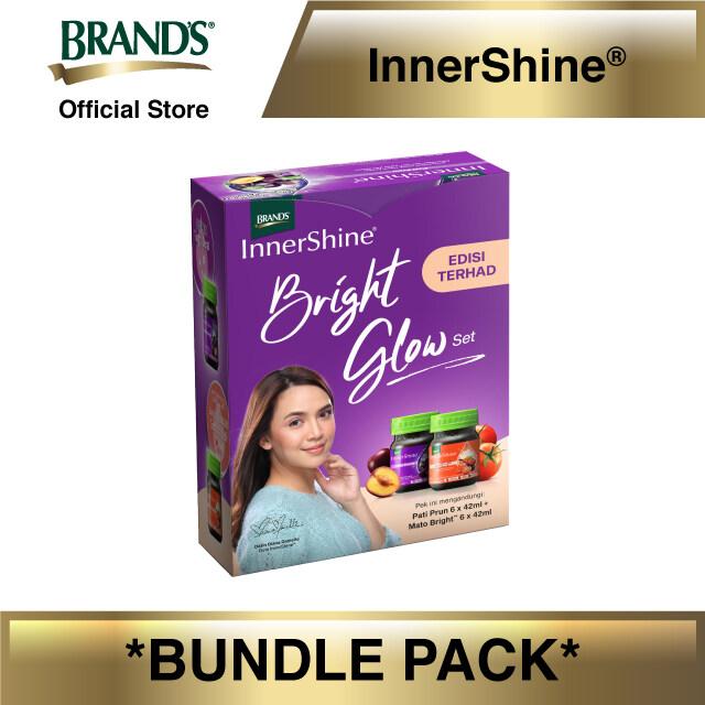 InnerShine Bright Glow Set (InnerShine Prune Essence 6's x 42ml + InnerShine Mato Bright 6's x 42ml)