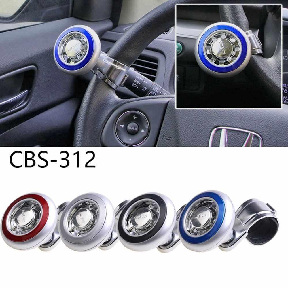 Steering Wheel Spinner Car Steering Wheel Spinner Handle Power Ball Knob Booster for Car Vehicle Black (Black)