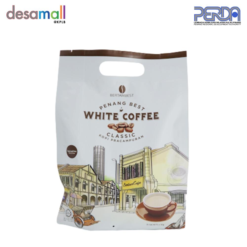 BERTAMBEST Penang Best White Coffee Classic - Original (15 sachets x 30g)